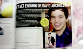 David Archuleta featured in Galaxie Magazine 2