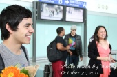 David Archuleta at Hongkong airport - cre. Wincy