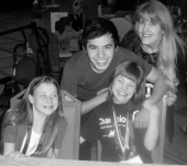 CMN Hospitals event - Emily Brown, David Archuleta, Sunny Hilden