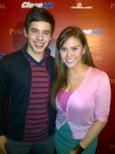 David Archuleta and Gretchen Fullido