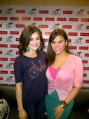 Lucy Hale and Gretchen Fullido