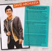 David Archuleta on Candy Mag