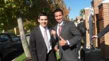 Elder Archuleta - 1st day in Chile