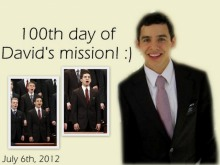 Elder Archuleta - Happy 100 days of service