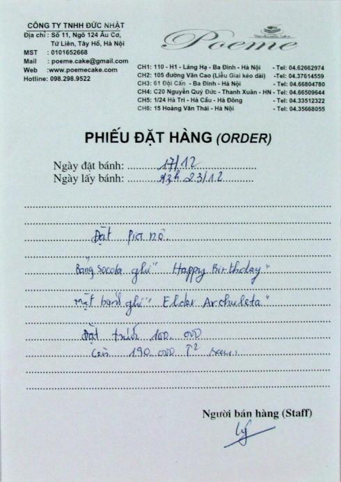 22 bday offline-Hanoi- Banh gato
