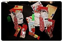 Christmas stockings for Elder Archuleta