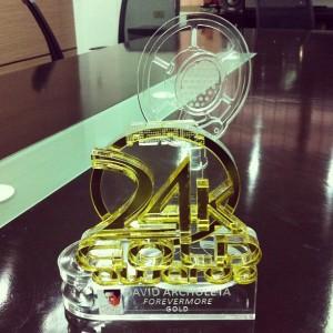 David Archuleta's Forevermore Gold 24k