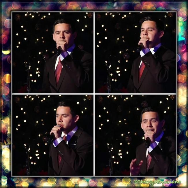 Elder Archuleta at Concierto De Navidad 2012 - Christmas Devotional  collage by Cherry