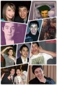 funny collage of David Archuleta