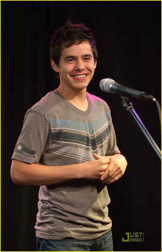 Q102 Presents David Archuleta Inside Studio Q For A Live Performance