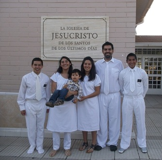 Elder Archuleta and Elder Peña did a baptism in 2012 (1)