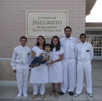 Elder Archuleta and Elder Peña did a baptism in 2012 (1)
