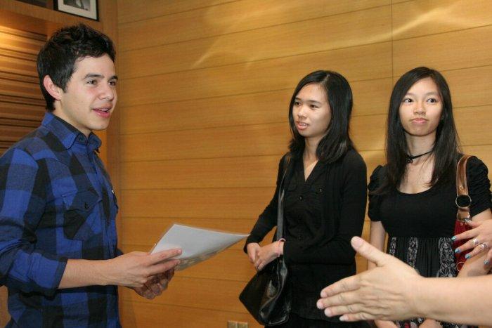 David Archuleta M&G, Kuala Lumpur, July 2011- cr. Larissa