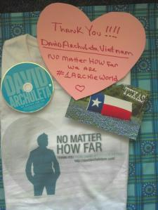 NMHF T-shirt - Linda's note