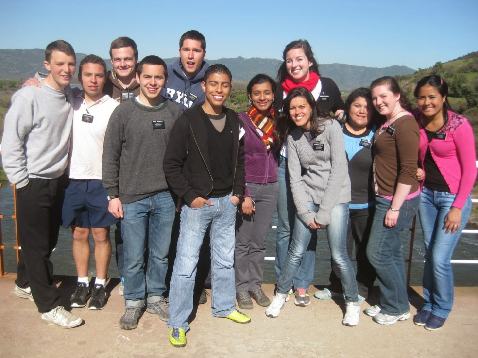 Zone Activity- Convento Viejo (a dam in Chile) 4th week of Sept, 2013