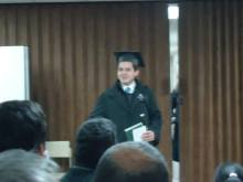 Elder Archuleta doing a skit - Oct. 2013(2)