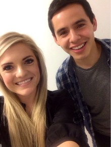 Kelli Sprunt and David Archuleta at Seventy3 Creative