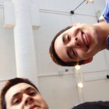 Selfie with David Archuleta 5 June 2014 (2)