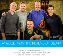 Angels From The Realms of Glory - Christmas collaboration