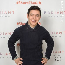 David Archuleta - Live Nativity VIP portrait  -cr. brycox